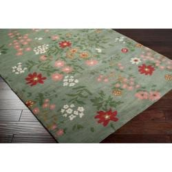 Paule Marrot Hand-tufted Halstead Floral New Zealand Wool Rug (5' x 8')
