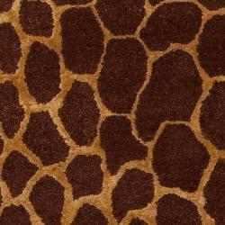 Bob Mackie Hand-tufted Eastwood New Zealand Wool / Viscose Rug (8' x 11')