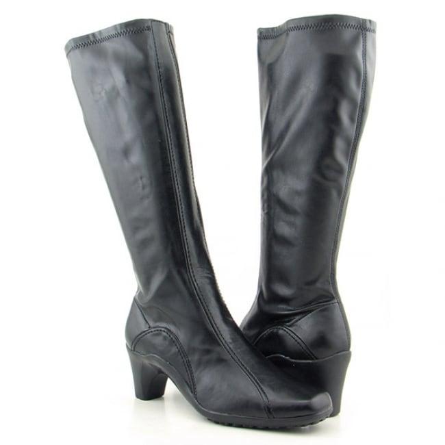 Aerosoles Women's 'Lasticity' Black Knee Boots