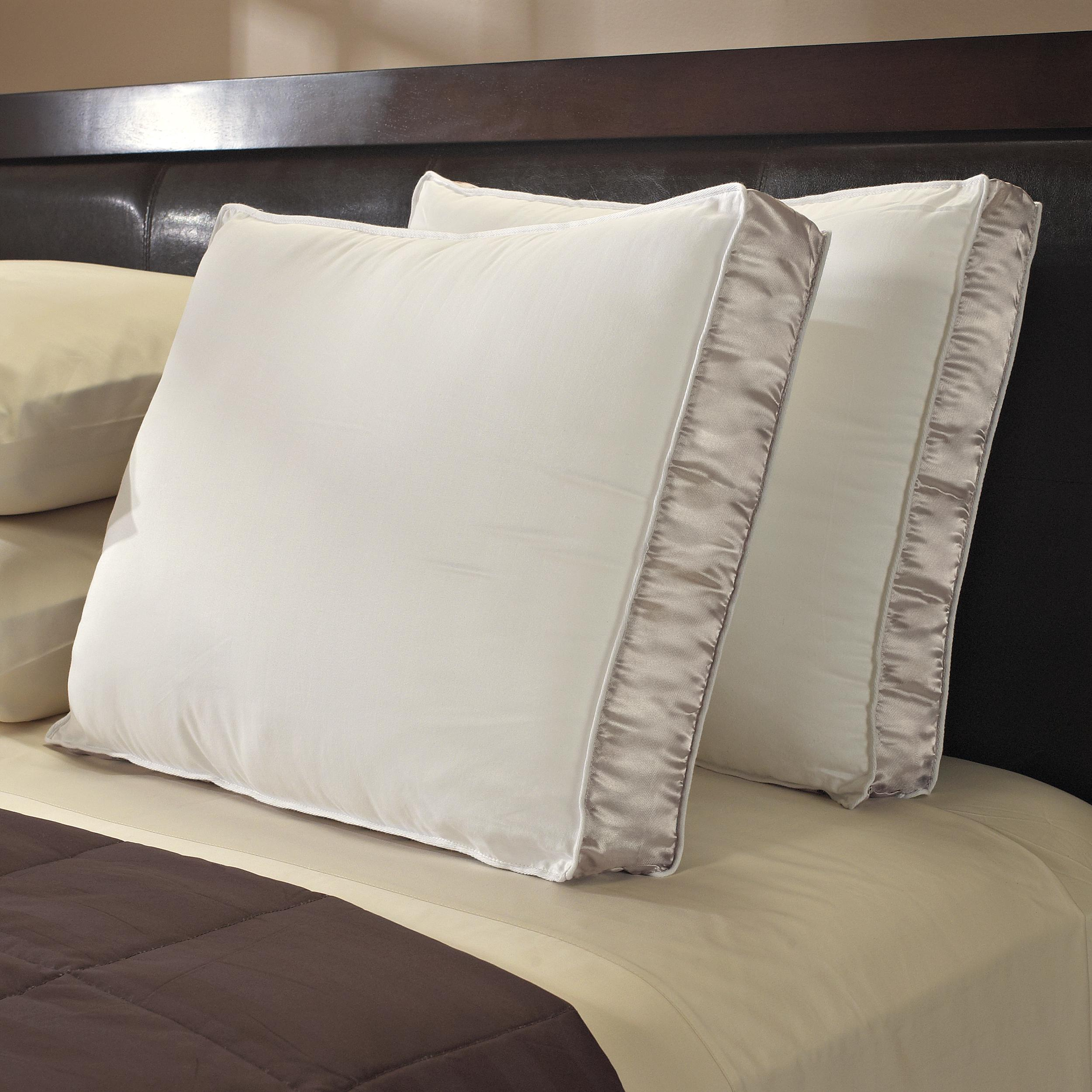 Famous Maker 330 Thread Count Gusseted Down Alternative Pillows (Set of 2)