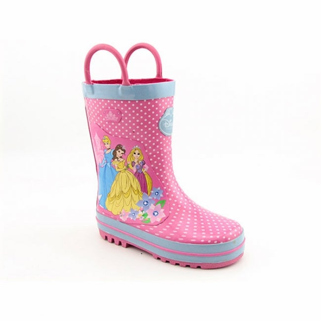 Disney Princess Infant Toddler Pink Rain Boots