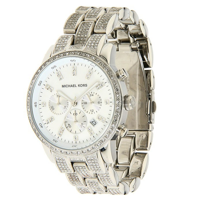 Michael Kors 'Showstopper' Glitz Chronograph Watch