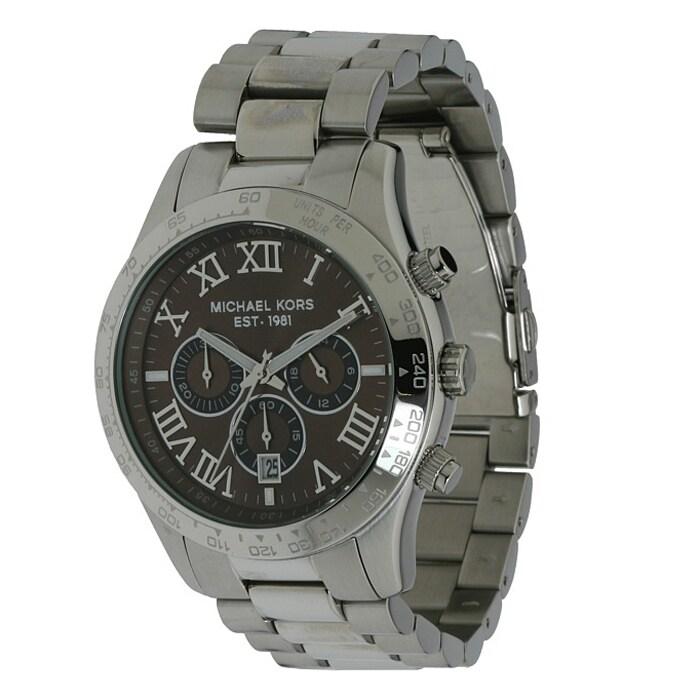 Michael Kors Men's Stainless Steel Chronograph Watch