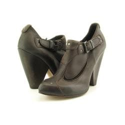 Diesel Girls 'Wild' Sound Brown Chestnut Heel Pump Shoes (Size 8.5)