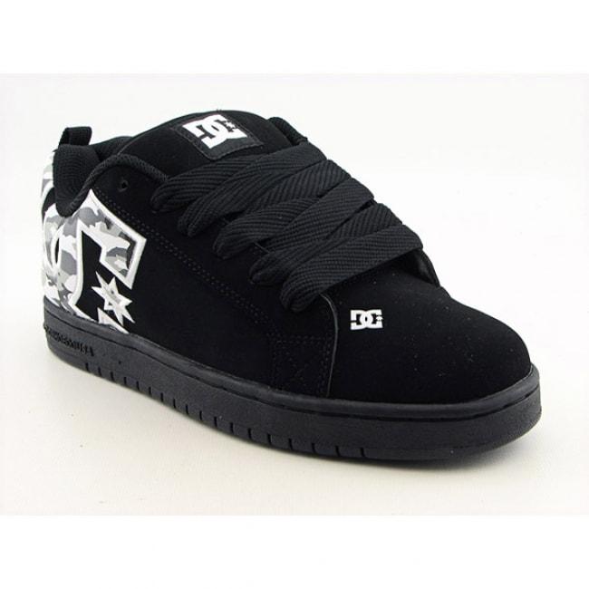 DC Shoe Co USA Men's 'Graffik SE' Black/Camo Skate Shoes (Size 8)
