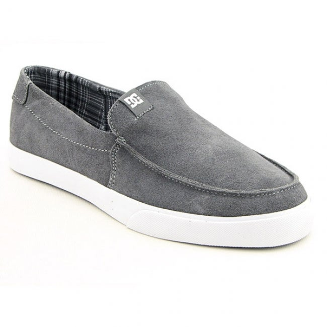 DC Shoe Co USA Men's `Villain Vulc' Gray Battleship Skate Shoes