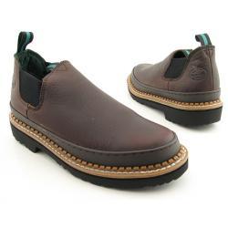 Georgia Men's 'Romeo Giant' Brown Work Shoes (Size 13)