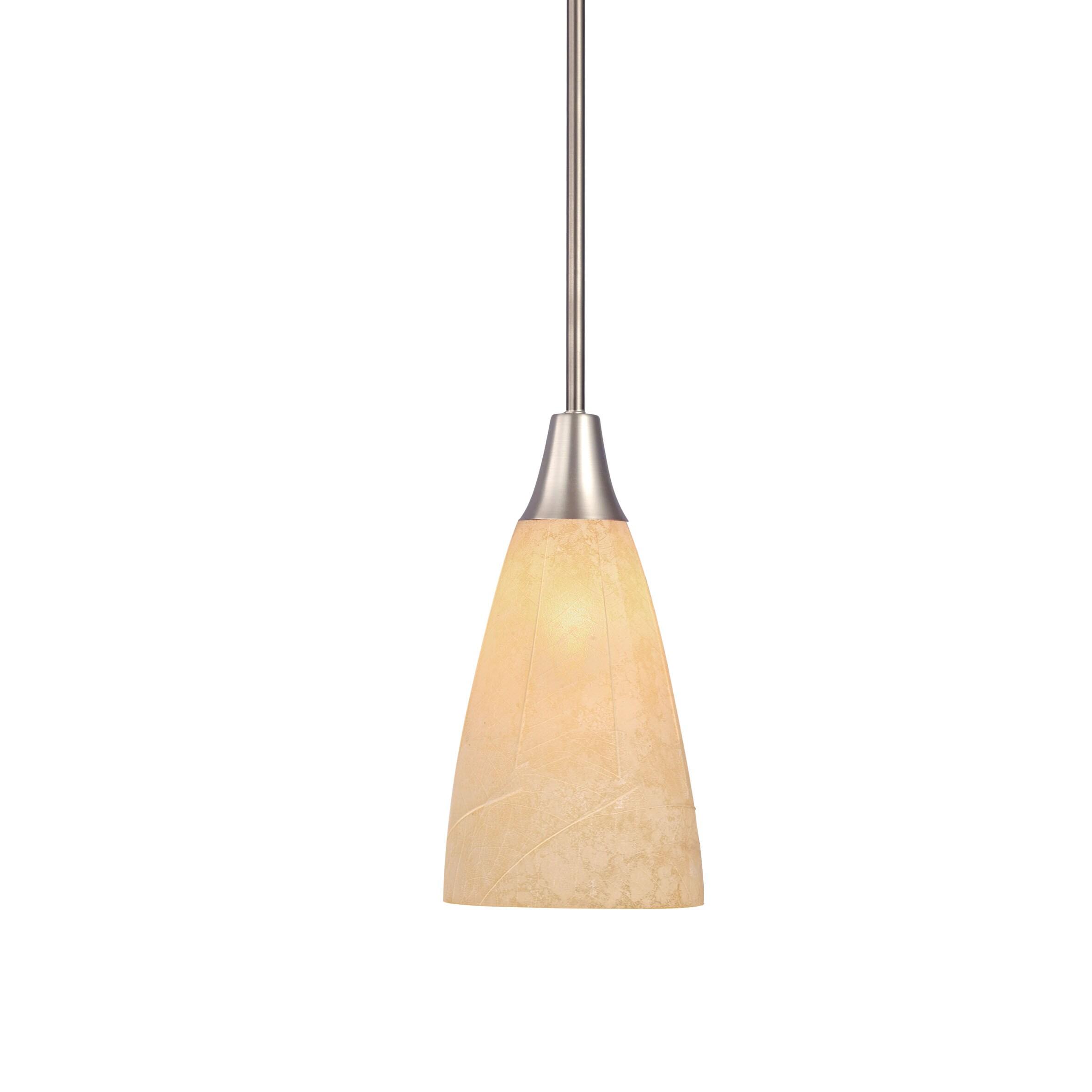 Woodbridge Lighting 1 light Satin Nickel AE18 Mini Pendant