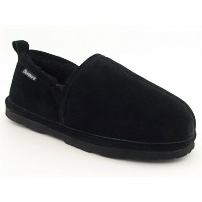 Bearpaw Men's 'Romeo II' Black Slippers Shoes