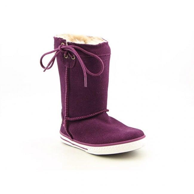 Bearpaw Manhattan Infant Toddler Purple Winter Boots