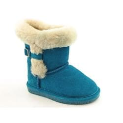 Bearpaw Halle Infant Toddler Blue Teal Winter Boots