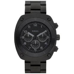 Fossil Men's Black Steel Chronograph Watch