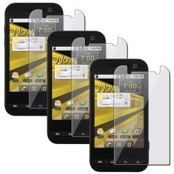 Screen Protector for Samsung Conquer D600 4G (Pack of 3)