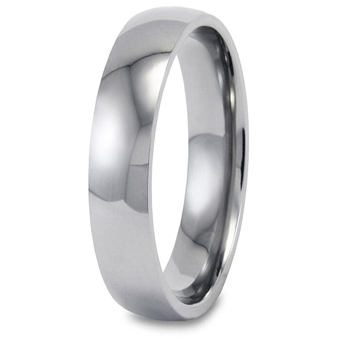 Polished Stainless Steel 5mm Ring