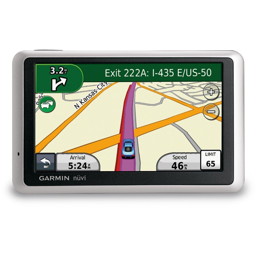 Garmin nuvi 1450LM 5-inch Touchscreen Portable GPS Navigator
