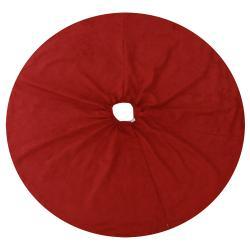 Joker Scarlet Cinnamon Reversible Holiday Tree Skirt