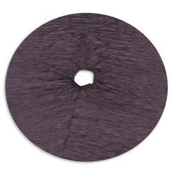 Hues Lavender Hemmed Holiday Tree Skirt