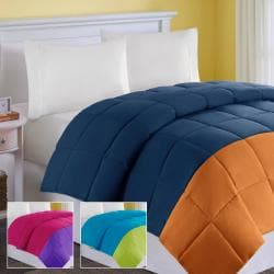 Comfort Classics Colorblock Full/Queen-size Down Alternative Comforter