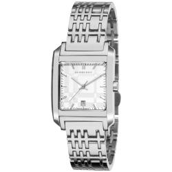 burberry s check stainless steel square