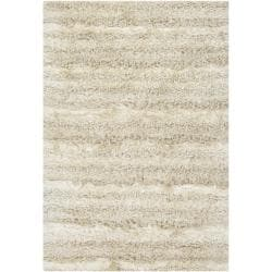 Hand-woven Mandara Shag Rug (5&#39; x 7&#39;6)
