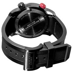 Burberry Men's 'Sport Diving' Black Rubber Strap Watch