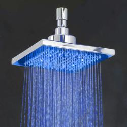 5-inch Square LED Shower Head