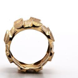 Henry Dunay 18k Yellow Gold Sabbi Ring (Size 6.25)