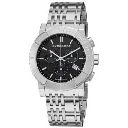Burberry Men's 'Round Chronograph' Stainless Steel Watch