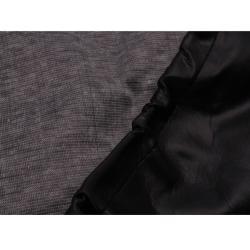 Black PVC Leather 32.3-inch Diameter Spare Tire Cover