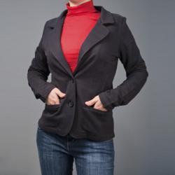 AtoZ Women's Classic Blazer Jacket