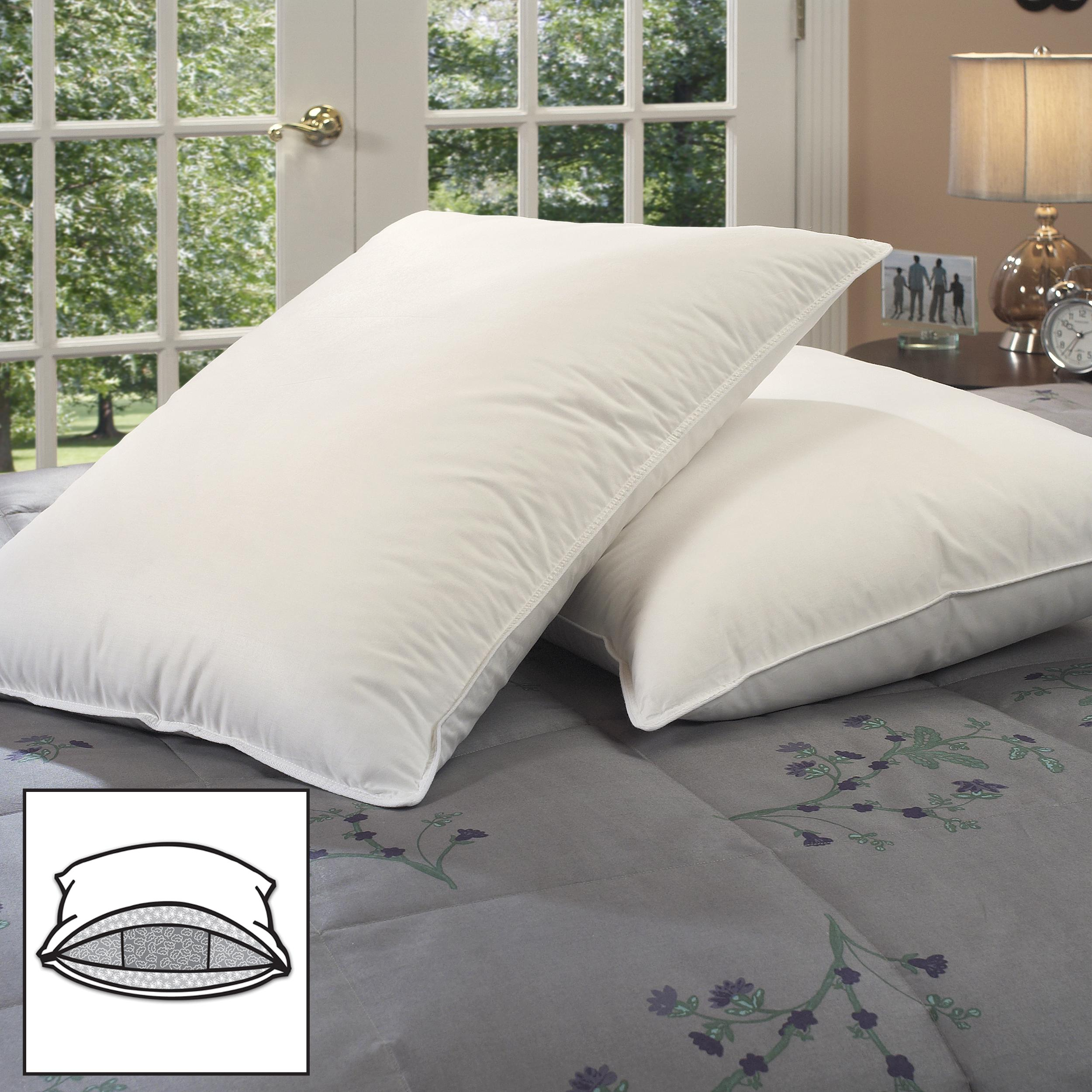 Famous Maker Triple Chamber Pillows (Set of 2)