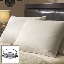 Famous Maker White Goose Triple Chamber Pillows (Set of 2)
