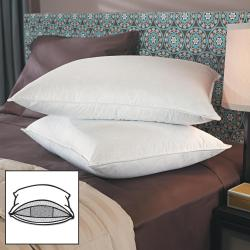 Famous Maker 550 Fill Power Down Wrapped Triple Chamber Pillows (Set of 2)