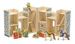 Melissa & Doug Fold and Go Castle Play Set