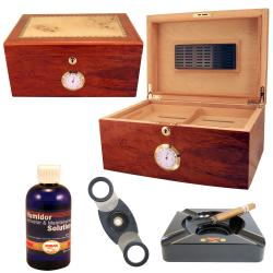 100 Cigar Humidor and Accessories Set Once