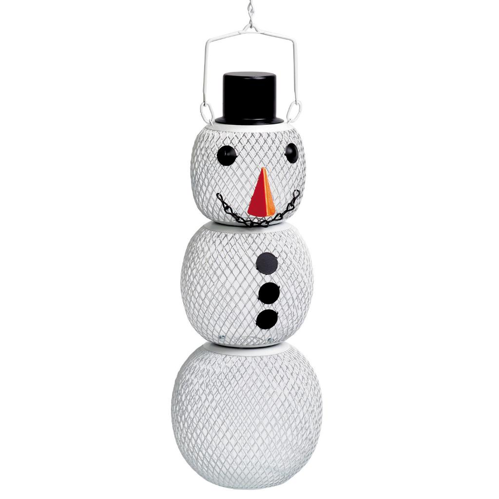Wild 'No No Snowman' Bird Feeder