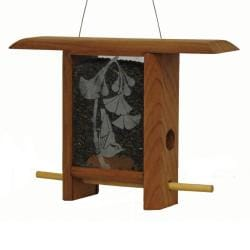 Schrodt Ginko Leaves Bird Feeder