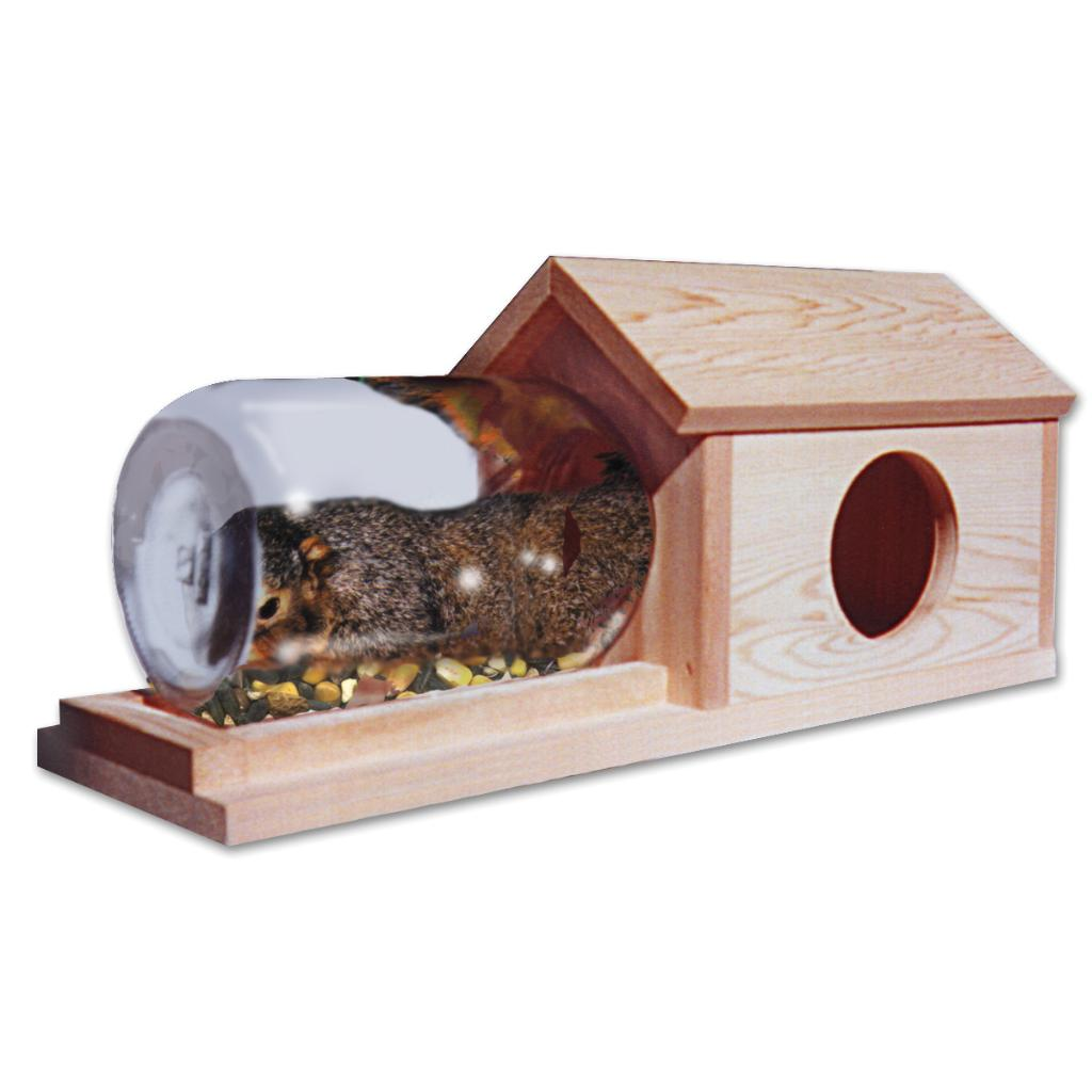 Schrodt House Of Munch Squirrel Feeder
