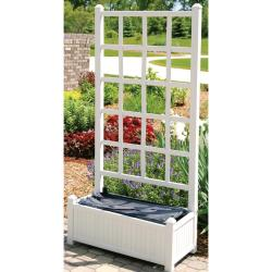 EarthBox Garden Veneer (White)