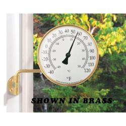 Vermont Dial Thermometer Copper