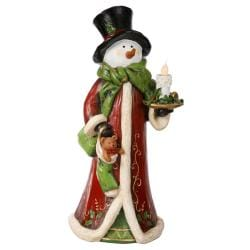 Electric Snowman Candle Figure (32