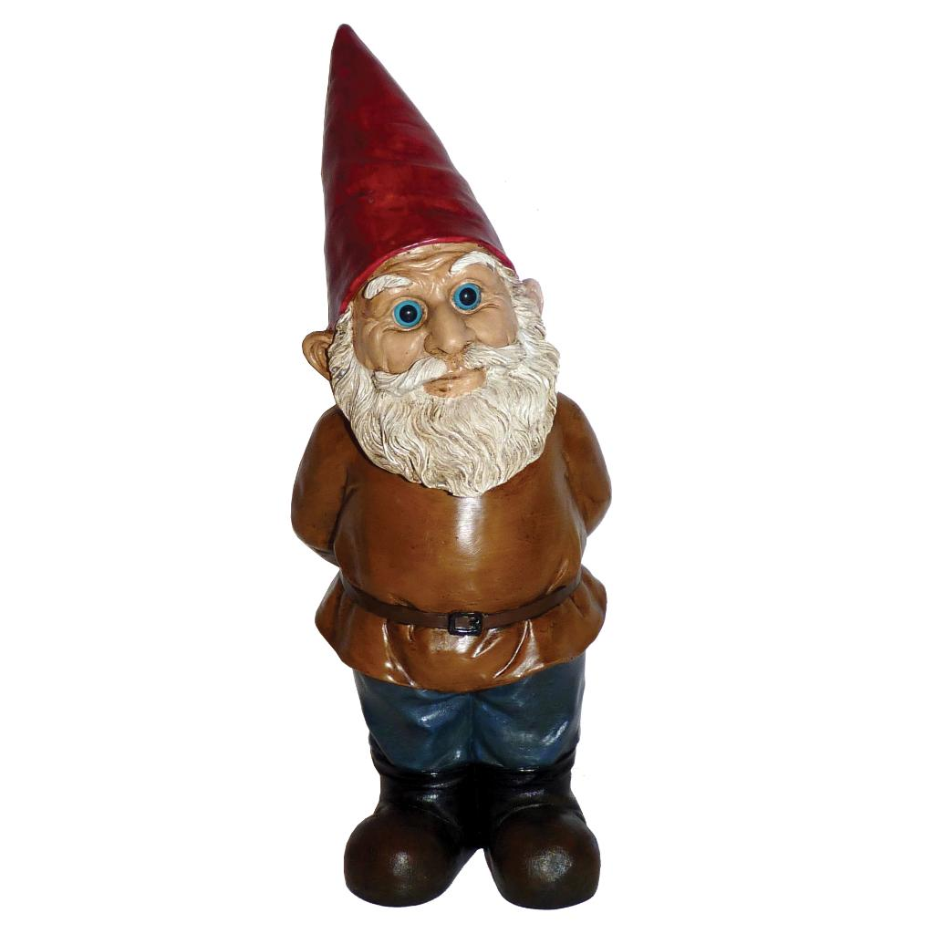 Michael Carr Observer Gnome Resin Statue
