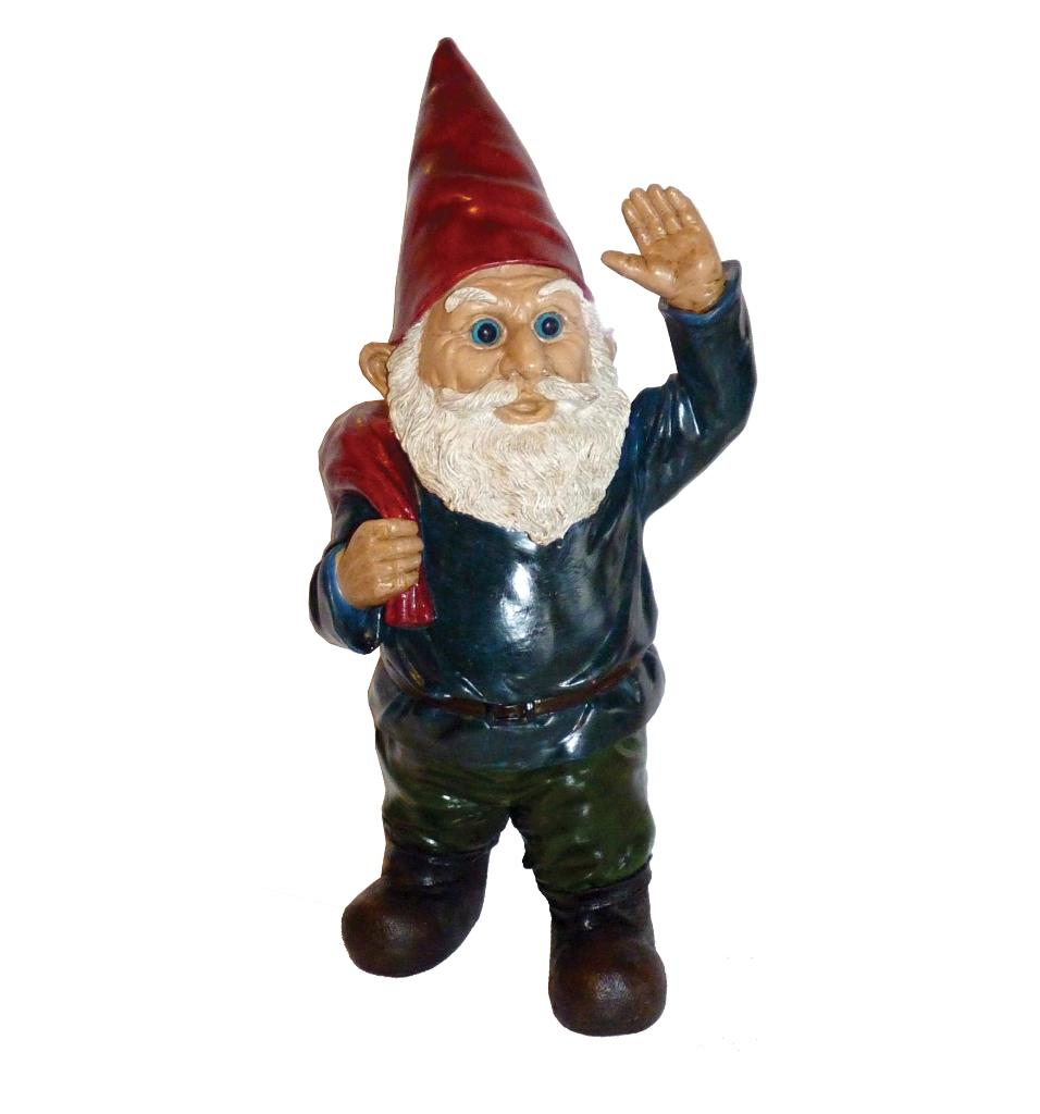 Michael Carr Hi Neighbor Gnome Resin Statue