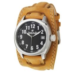 Timberland Women's 'Terrano' Stainless Steel and Leather Quartz Watch