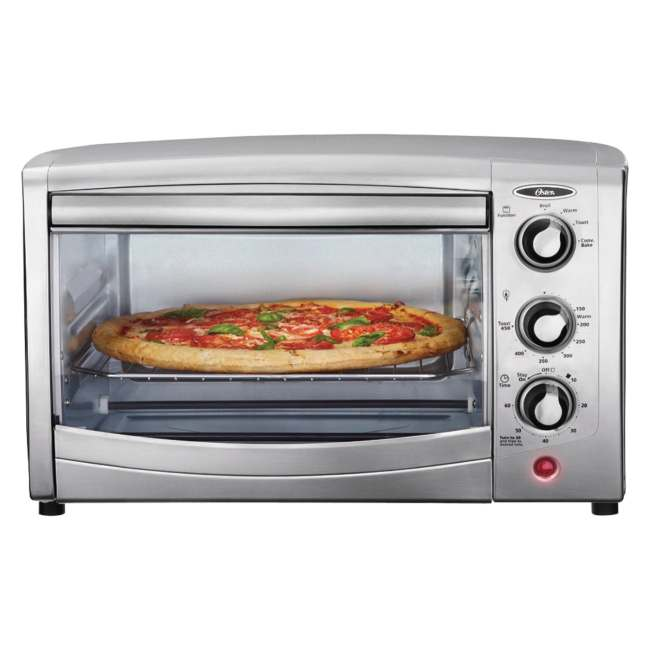 Countertop Convection Oven Ratings : Oster TSSTTVCA01 6-Slice Convection Toaster Oven - 13986271 ...