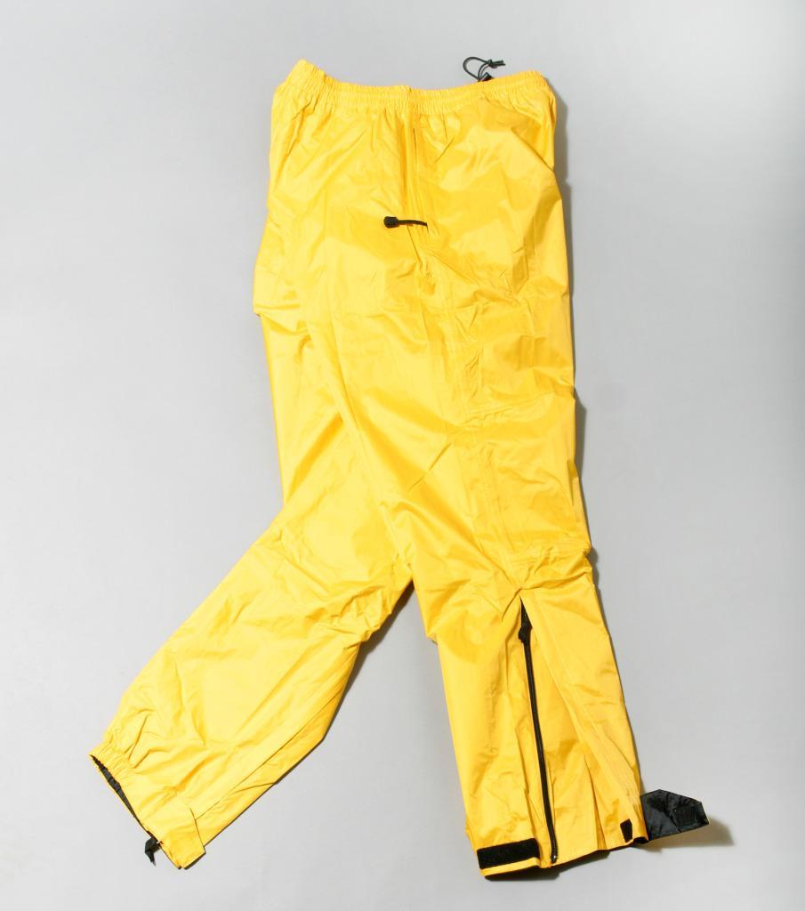 Bimini Bay Men's Yellow Boca Grande Waterproof Breathable Rain Pants