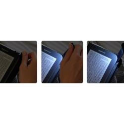 Lighted Leather Cover for 3rd Gen Kindle Keyboard (Fits 6-inch Display)