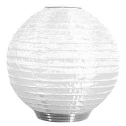 White Solar-powered Soji Lantern