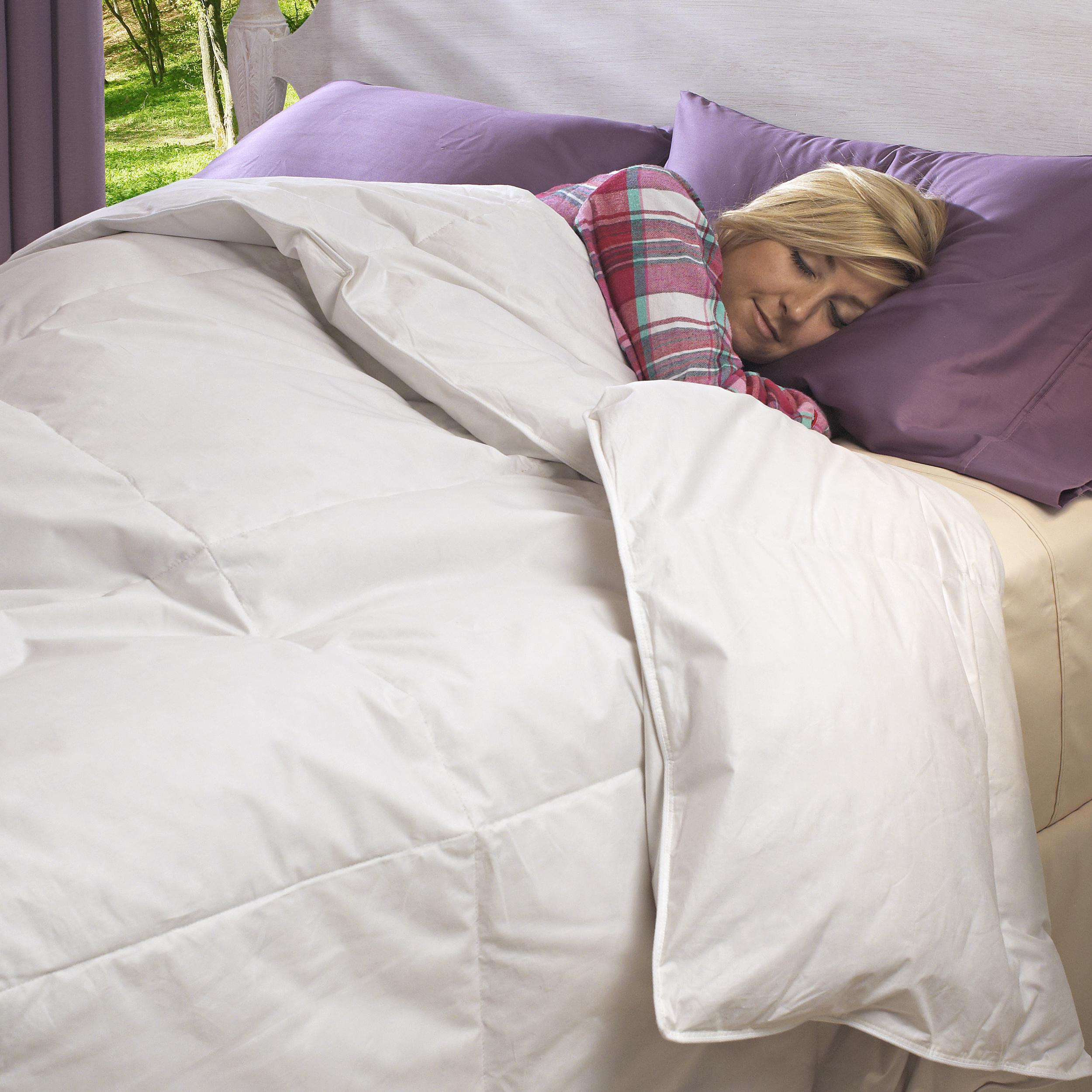 Luxury-size All Seasons 300 Thread Count Down Comforter