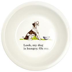 Ore Hungry Dog Ceramic Bowl